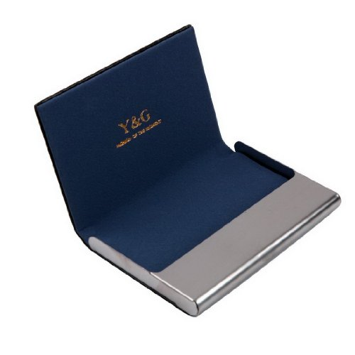 1. YDC05 Best Business Card Holder Leather Card Case Excellent Designer By Y&G