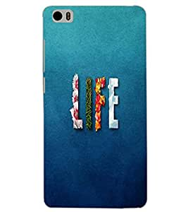 XIAOMI MI5 LIFE Back Cover by PRINTSWAG