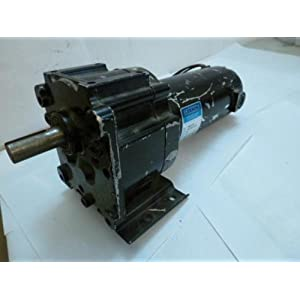 Leeson Parallel Shaft 1 8 Hp 167 Rpm 90vdc Electric Gear