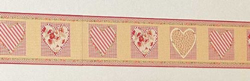 "Pocket Full of Posies Wall Border (6.5"" x 15'), by Baby Martex"