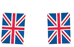 Union Jack Flag Bunting, 10 Metres 20 flags, ideal for jubilee