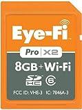 【並行輸入品】Eye-Fi Pro X2 8 GB Class 6 SDHC Wireless Flash Memory Card EYE-FI-8PC