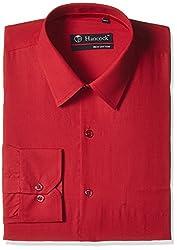 Hancock Men's Formal Shirt (9133Red_40)