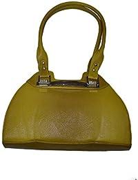 Knott Designer Green Hand Bag For Women
