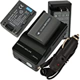 2Pcs Battery+Charger for Sony MiniD
