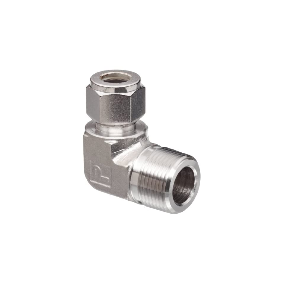 Parker A Lok 4MSC4N 316 316 Stainless Steel Tube Fitting, Adapter, 1/4