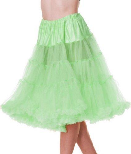 HELL BUNNY 50er Jahre Langer Petticoat Mintgrün