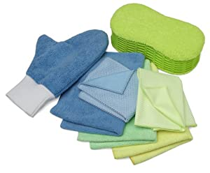 Zwipes 7-Piece Microfiber Cleaning Kit