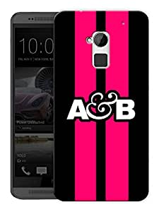 "Humor Gang Above And Beyond Logo - Red Printed Designer Mobile Back Cover For ""HTC ONE MAX"" (3D, Matte, Premium Quality Snap On Case)"