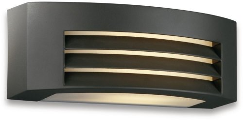 Philips 17105/93/46 23-Watt myGarden Wall Light (Anthracite and Aluminium)