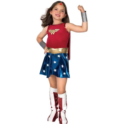 Wonder Woman - DC Comics Wonder Woman Costume (Girl's Children's Costume)