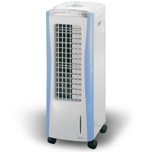冷風扇(リモコン付き)スリムタイプ マイナスイオン機能付き MSO-F1103S(A) ブルー
