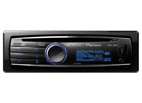 Pioneer DEH-8300SD CD/MP3 Car Stereo Front USB Front Aux Input, SD Card Reader, iPod