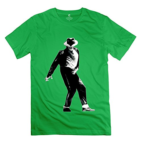 New Design Michael Jackson - Personalized T Shirt For Men ForestGreen