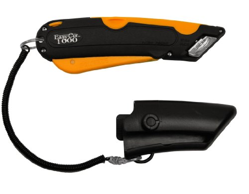 Box Cutter Orange 1000 Series EZ Cut / Easy Safety