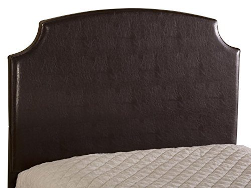 Hillsdale Furniture Lawler Headboard With Rails, Queen, Brown front-927921