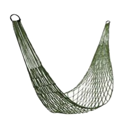 Earlybirdsavings Nylon Meshy Rope Hammock Sleeping Net Bed For Hiking Camping Outdoor Sports front-32406