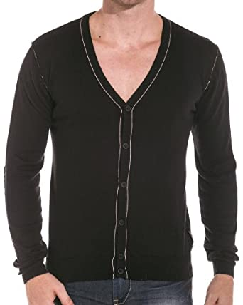 Sixth June - Gilet homme noir design - couleur: Noir - taille: S