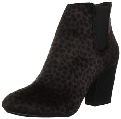Ruby Rocks Women's Madeline Brown Leopard Pony Hair Heels RR006 4 UK, 37 EU