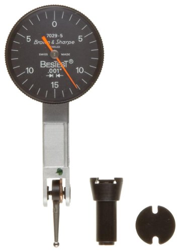 Brown & Sharpe 599-7029-5 BesTest Dial Test Indicator, 0.001