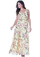 Roamans Women's Plus Size Roaman's Printed Maxi Dress