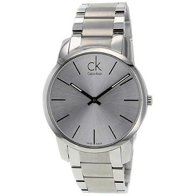 Calvin Klein Men's CK City Watch in Silver, K2G21126
