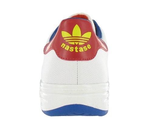 Imagen de Nastase cuero zapato Casual blanco Hombres Adidas, multicolor (8)