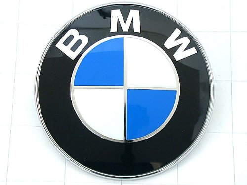 BMW (1987-2010) front Hood engine lid / Trunk lid EMBLEM badge KIT oem for e30 e32 e34 e36.7 e36 e38 e60 e61 e85 f01 f02 f07 (Bmw Oem Hood Emblem compare prices)
