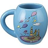 Vandor 53830 Dr. Seuss Oh The Places Oval Ceramic Mug, 18-Ounce, Multicolored