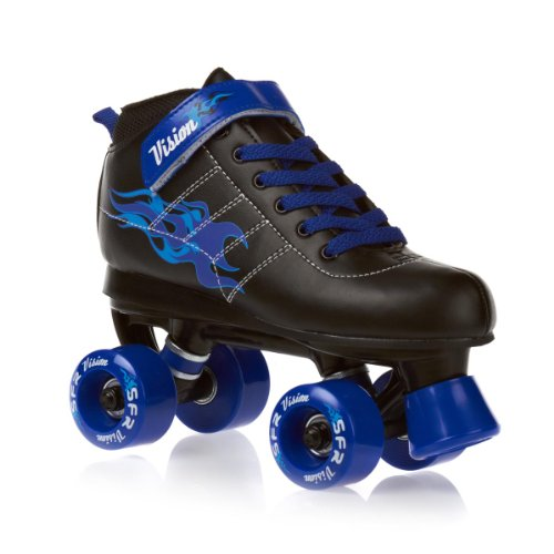 SFR Vision Boys Junior Quad Roller Skates - Blue - Jnr13