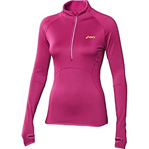 ASICS Women's WINTER Half Zip T-shirt Course à Pied - M