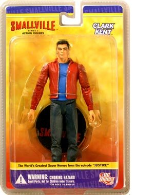 DC Direct Smallville Series 2 Action Figure Superman (Clark Kent) (Superman Clark Kent Action Figure compare prices)