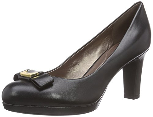 GeoxD LANA A - Decolleté chiuse Donna , Nero (Schwarz (C9999BLACK)), 38