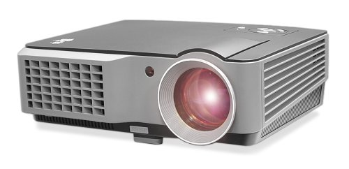 Pyle Prjd902 Widescreen Led Projector With Up To 140-Inch Viewing Screen, Built-In Speakers, Usb Flash Reader & Supports 1080P