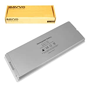 "APPLE 13"" Macbook Rechargeable Battery A1185 White Laptop Battery - Premium Bavvo® 6-cell Li-polymer Battery"