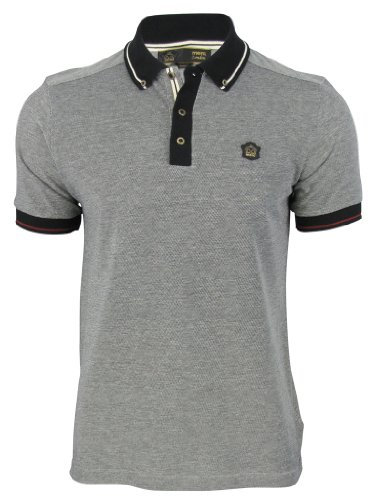 Mens Merc London Polo T Shirt 'Hugh' Mod Retro Short Sleeved