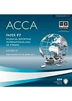 ACCA - F7 Financial Reporting (International): Audio Success CDs