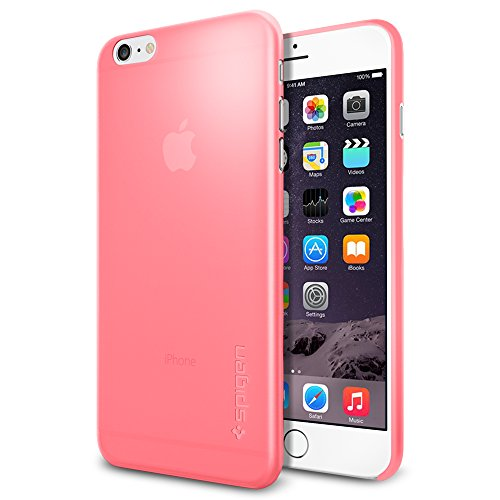 iPhone 6 Plus ケース Spigen [薄さ0.4mm] エアースキン Apple iPhone (5.5) (国内正規品) (アザレア・ピンク SGP11160)