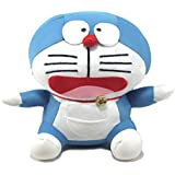Tickles Blue Doraemon Stuffed Soft Plush Toy Love Girl 18 Cm