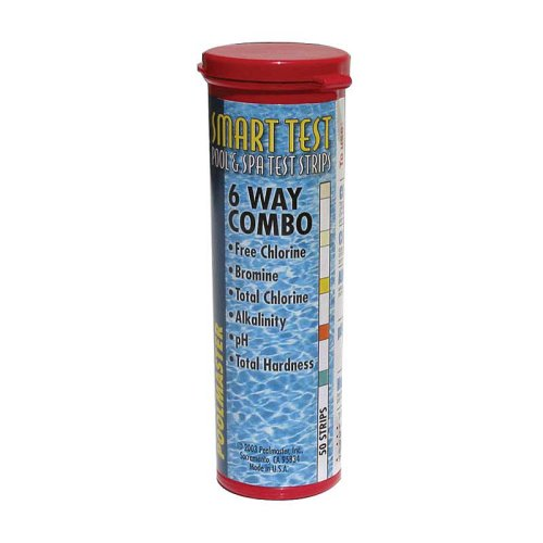 Poolmaster 22212 Smart Test 6-Way Pool and Spa Test Strips - 50ct (Water Test Strips Hardness compare prices)