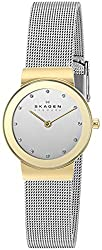 Skagen Analog White Dial Womens Watch - 358SGSCD