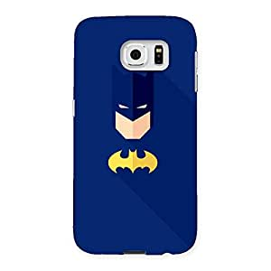Cute Blue At Yellow Back Case Cover for Samsung Galaxy S6
