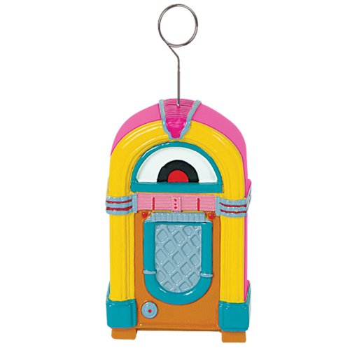 Jukebox Photo/Balloon Holder Party Accessory (1 count)