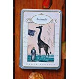Cavallini Postcard Set- Animals