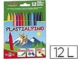 Alpino PA000012 Pack of 12 Wax Crayons