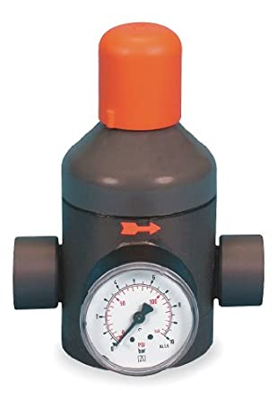 gf piping systems pvc water pressure reducing valve 2 npt female indu. Black Bedroom Furniture Sets. Home Design Ideas