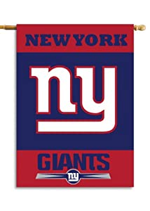 NFL New York Giants 2-Sided 28-by-40-Inch House Banner by Fremont Die