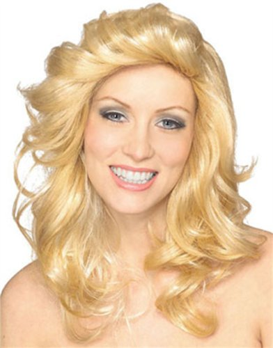 70s Angel Wig (Blonde) Adult Accessory