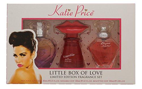 Katie Price Little Box of Love Confezione Regalo 30ml Besotted EDP + 30ml Kissable EDP + 30ml Precio