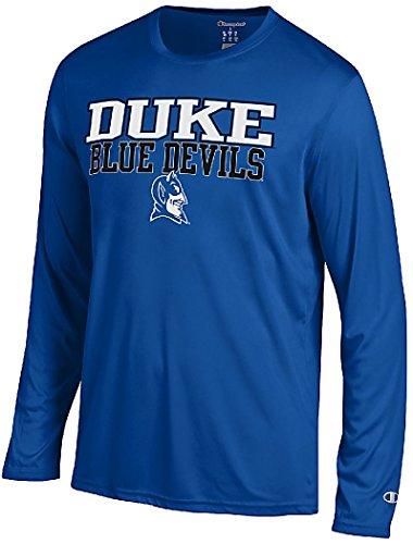 Duke Blue Devils Royal Vapor Dry Champion Powertrain Long Sleeve T-Shirt (Medium) (Duke Blue Devils Dry Fit Shirt compare prices)